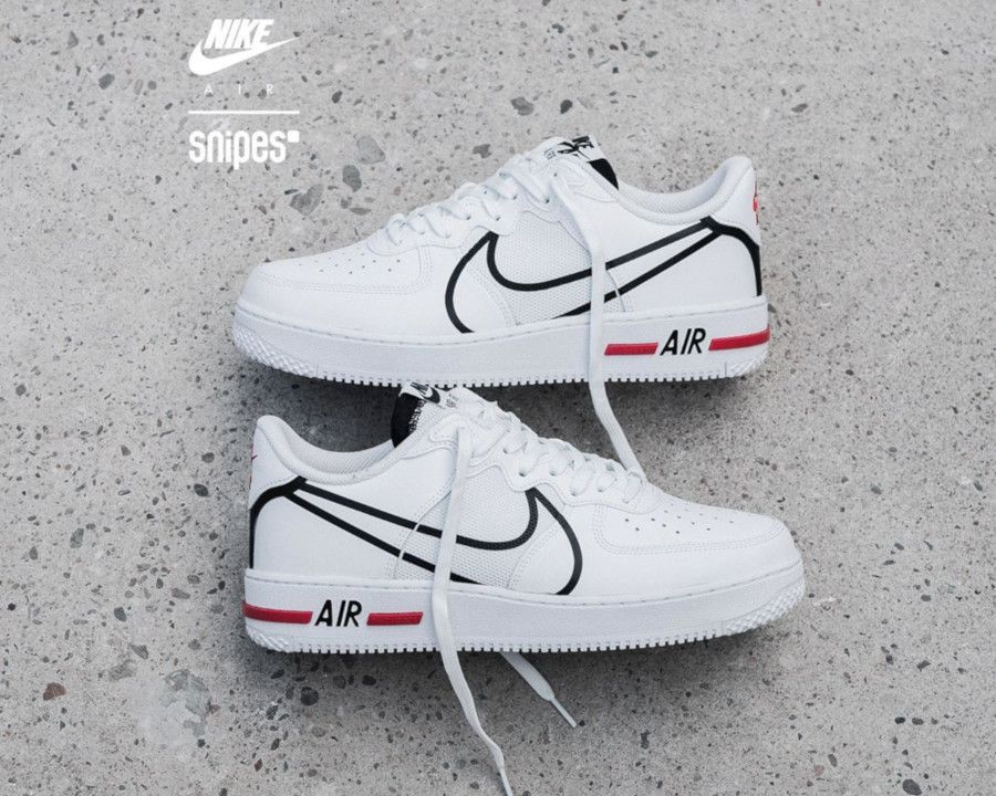 Nike Dimsix Air Force 1 React Dmsx White 2020 2020 Nike Air Erkek Spor Ayakkabilari Nike Ayakkabilar