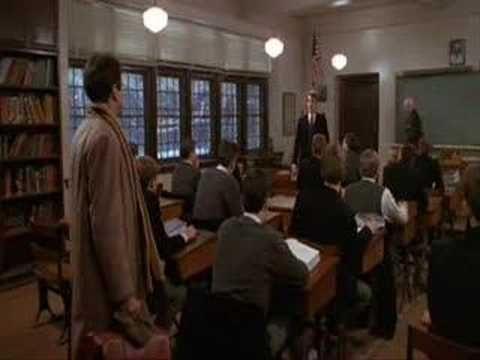 Oh, Capitán, mi Capitán...  Escena final El Club de los Poetas Muertos    Oh Captain,my captain-Dead poets Society