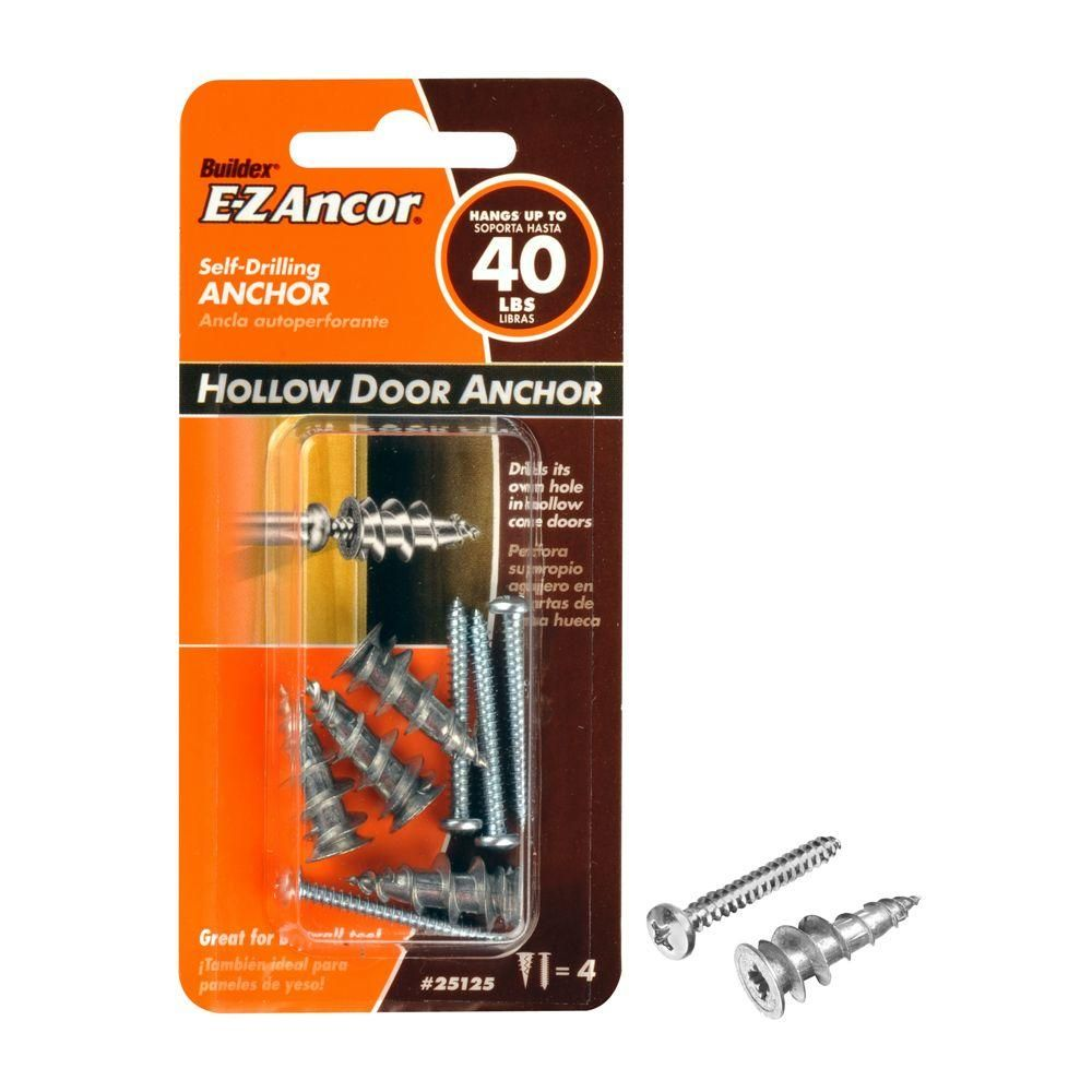 For The Delta Towel Bar E Z Ancor 1 1 4 In Hollow Door And Drywall Anchors 4 Pack Woodworking Essential Woodworking Tools Jet Woodworking Tools