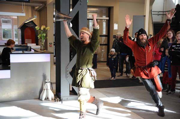 Invigningsdag för När då var nu - medeltidens makt och människor