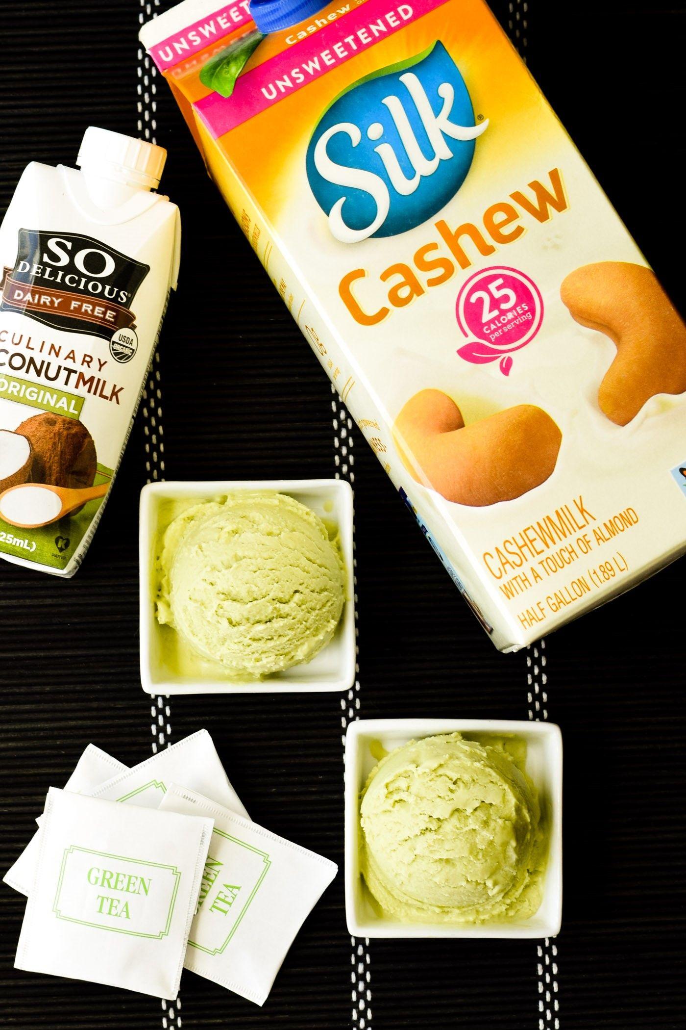 Dairy Free Green Tea Ice Cream Recipe Vegan Soy Free Too Recipe Green Tea Ice Cream Dairy Free Snacks Dairy Free