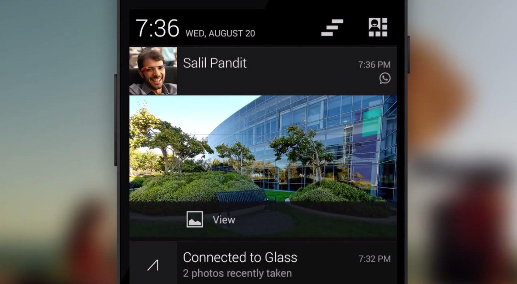 Set up Notification Sync on Google Glass GoogleGlass
