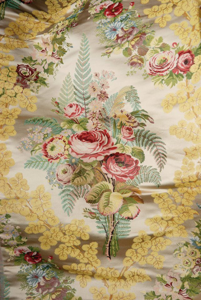 Designer Blossom Fleurs Papillons Digital tissu de coton rideau ameublement