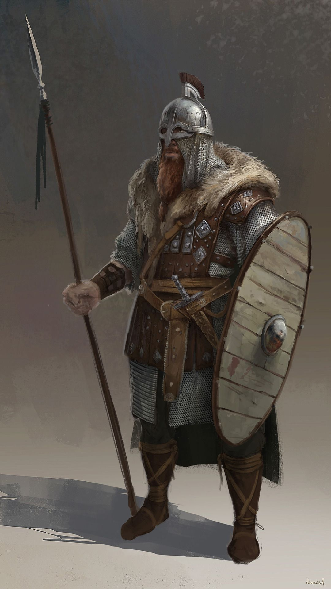 Rpg Character Art Fantasy Vikings Northman Character