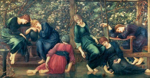 The Garden Court, from the Briar Rose Series, c.1894 Sir Edward Burne-Jones