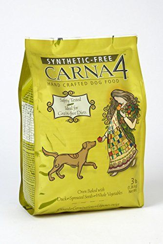Carna4 Hand Crafted Dog Food 13 Pound Duck Dogfood Rawdogfood