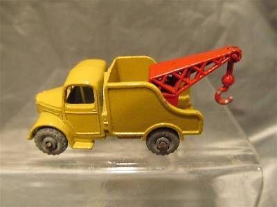 Lesney Matchbox #13 Wreck Truck With Metal Wheels - http://www.matchbox-lesney.com/39416