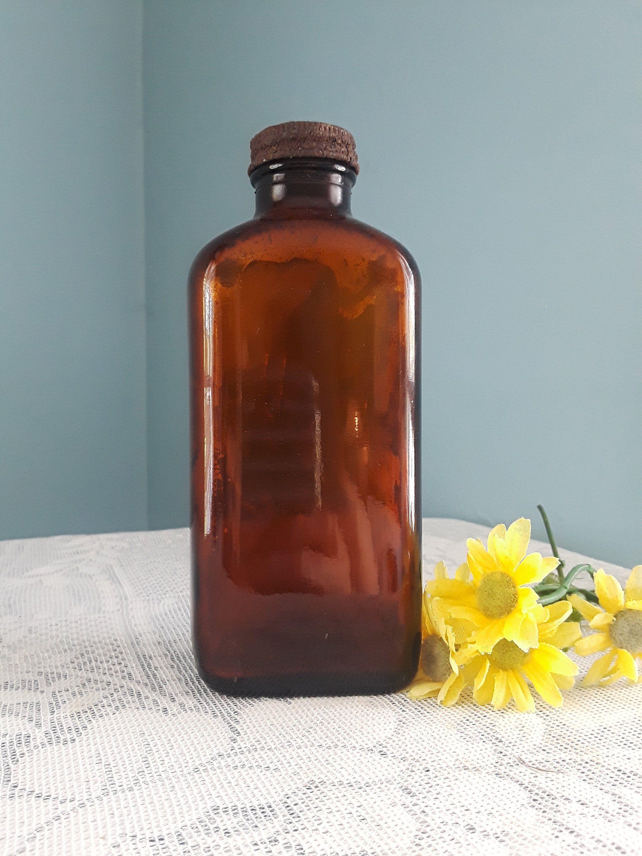 Brown Medicine Bottle Vintage William H Rorher Whr Glass Vintage Amber Medicine Bottle Medicine Bottle Vintage Amb Medicine Bottles Perfume Bottles Amber Glass