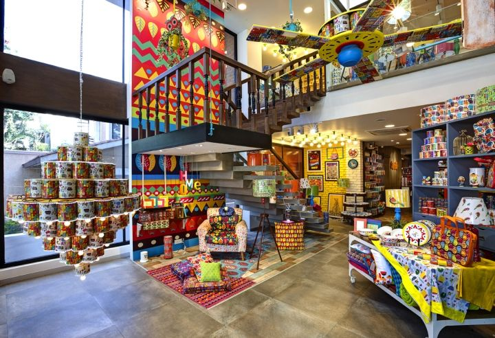 Chumbak store by 4d bangalore india retail design for Online furniture shopping bangalore