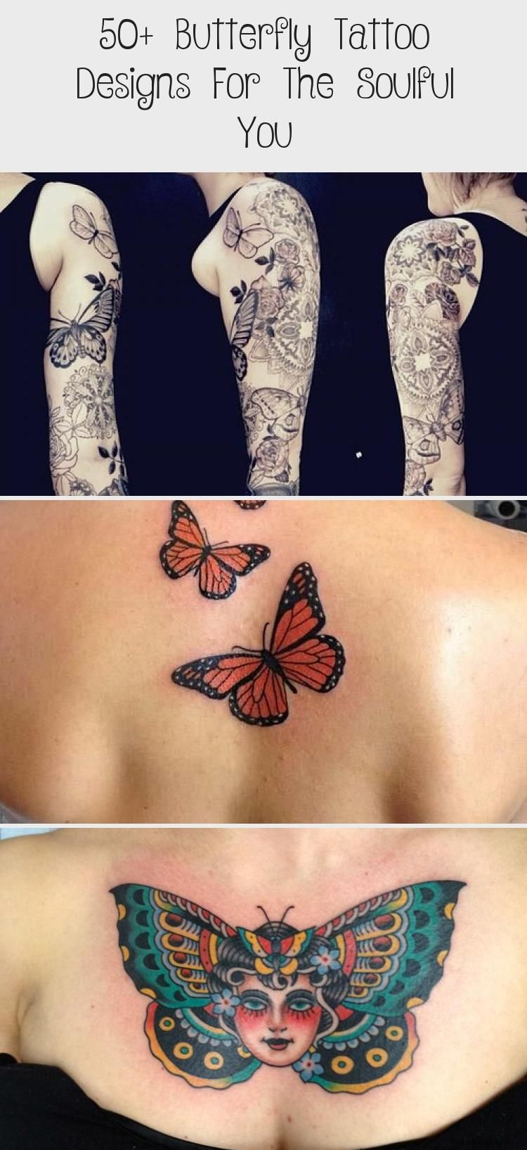 50+ Butterfly Tattoo Designs For The Soulful You - Tattoos and Body Art