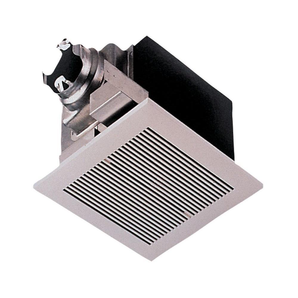 Panasonic Whisperceiling 290 Cfm Ceiling Surface Mount Bathroom Exhaust Fan Energy Star White Bathroom Fan Exhaust Fan Kitchen Ventilation Fan