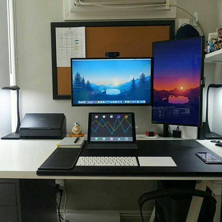 Standing Desk Home Office Setup Room Setup Office Setup