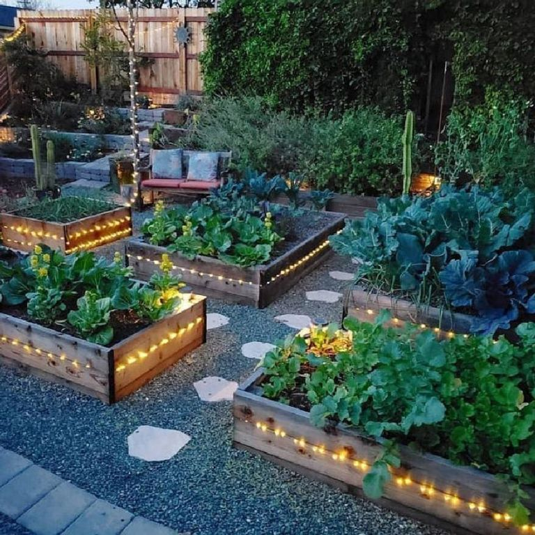 32 Extraordinary Vegetable Garden Ideas For Backyard