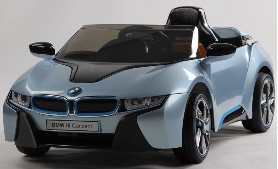 venta coche de batera para nios bmw i v p azul rc