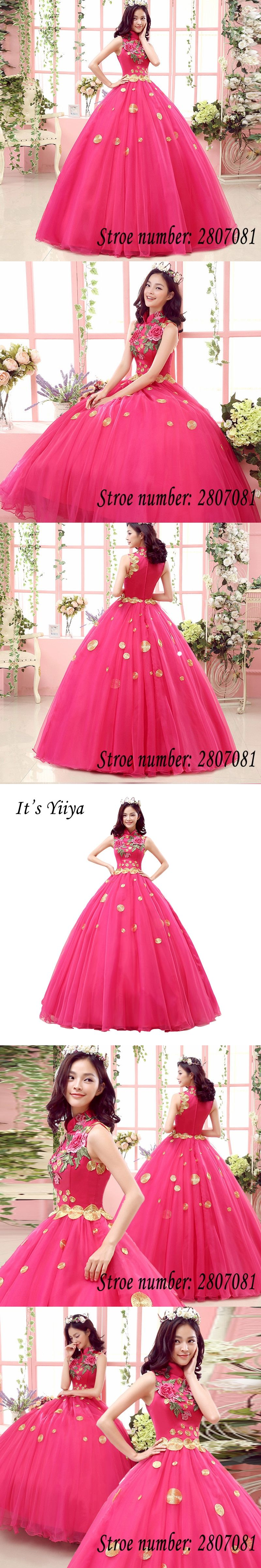 Vestidos De Novia Free Shipping Plus Size Wedding Dresses Roes Red ...