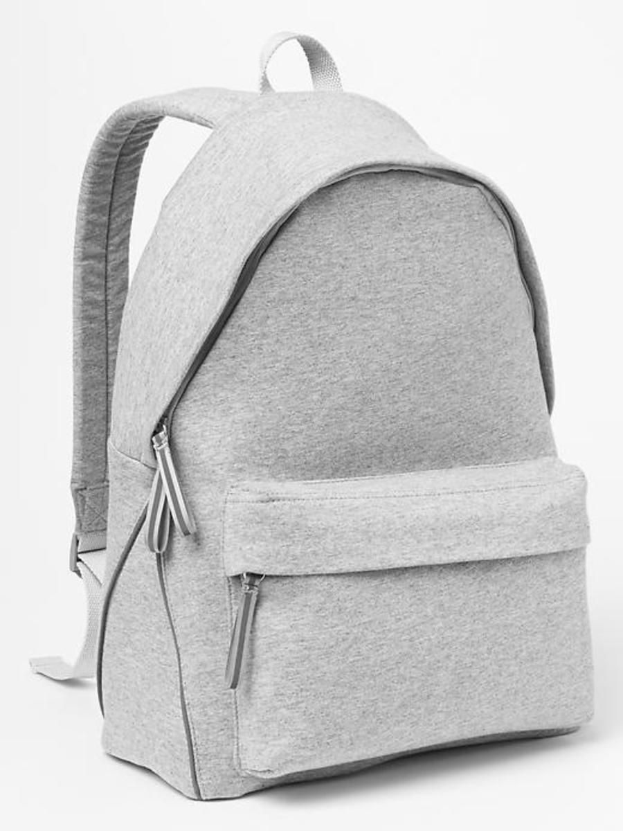 Gap Jersey Backpack - Lt heather grey