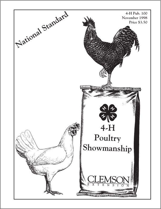 poultry showmanship national standard 4 h publication unusual rh pinterest com Poultry Showmanship Scorecard Poultry Showmanship Jacket