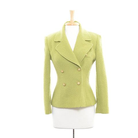 Bloomingdale's Pear Green Coat Size:M $30.00 stacksonracks.com