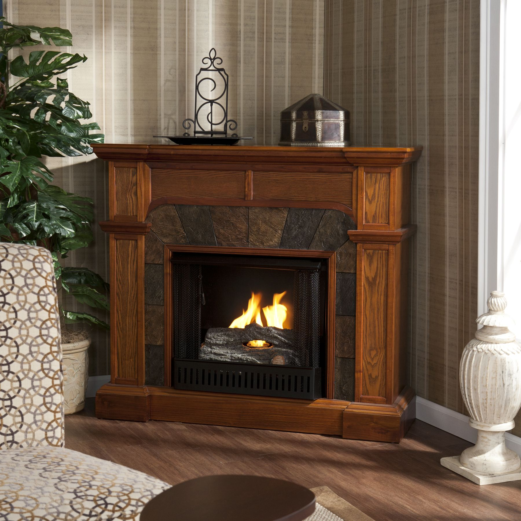 stand accommodates black inch oak electric p a htm fireplace sonoma to tv up