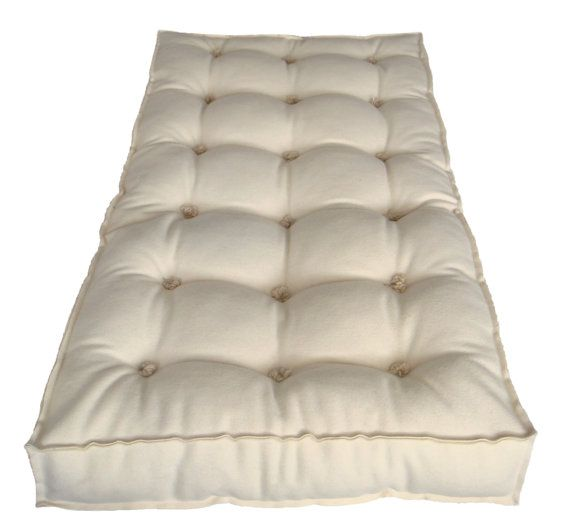 all wool mattress x x   crib or toddler bed futon   lambswool covering and pure eco grown wool stuffing all wool mattress 23 6   x 47 2   x 4     crib or toddler bed futon      rh   pinterest