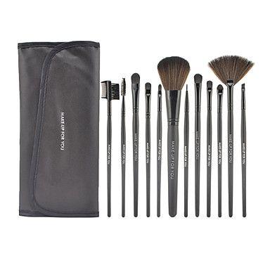 1039 12pcs makeup brushes professional limits bacteria