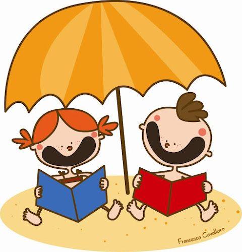To Read On The Beach A Leer En La Playa Ilustracion De Francesca Cavallaro Poesias Infantiles Educacio Fisica Frases De Lectura