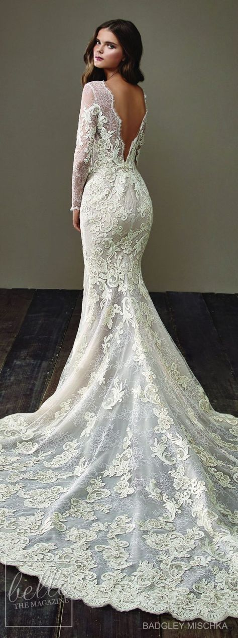 20 Excellent Wedding Dresses Sencillo #Fabulous #WithSleeves #WeddingDresses