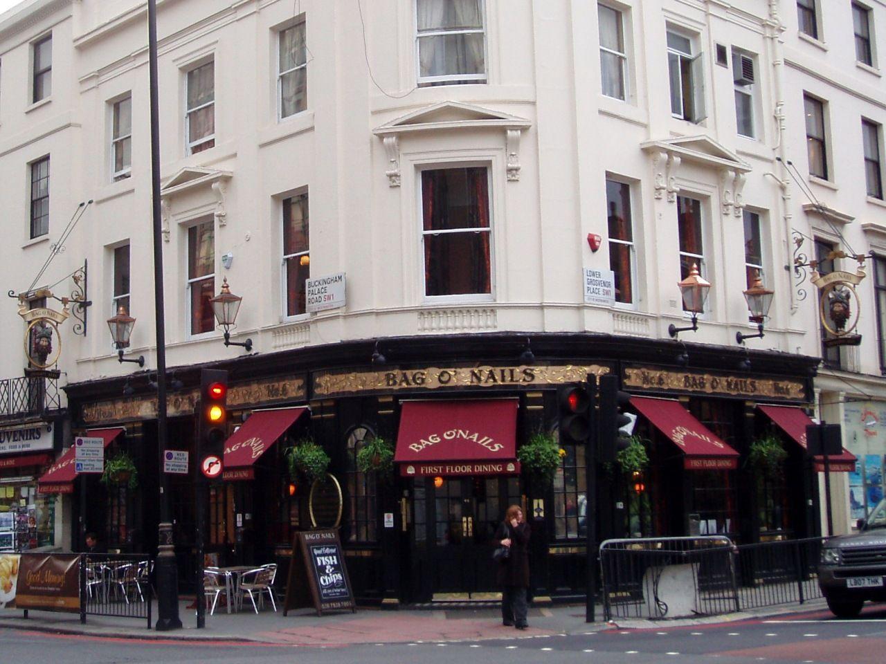 Bag O Nails Taylor Walker London Pubs Pub Crawl England Travel