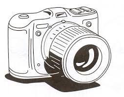 Resultado De Imagen Para Fotografiando Dibujo Cámara De Fotos Dibujo Dibujo De Camara Camara Para Colorear