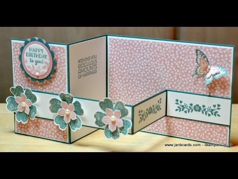 52dd183ca No.158 - Double Z Card - JanB UK Stampin  Up! Demonstrator Independent -  YouTube