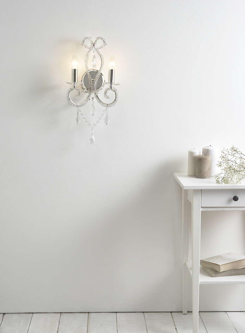 Chrome kelsie wall light bhs master bedroom pinterest bhs chrome kelsie wall light bhs aloadofball Gallery