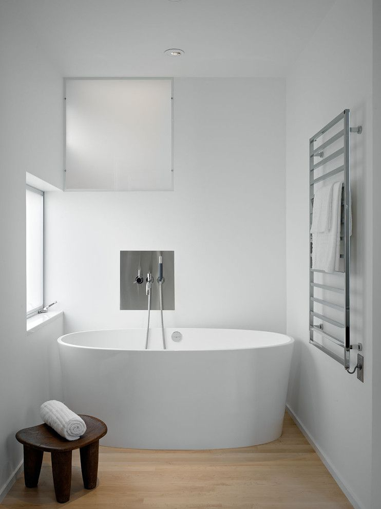 Gorgeous Heated Towel Rack In Bathroom Modern With Pictures Of ..