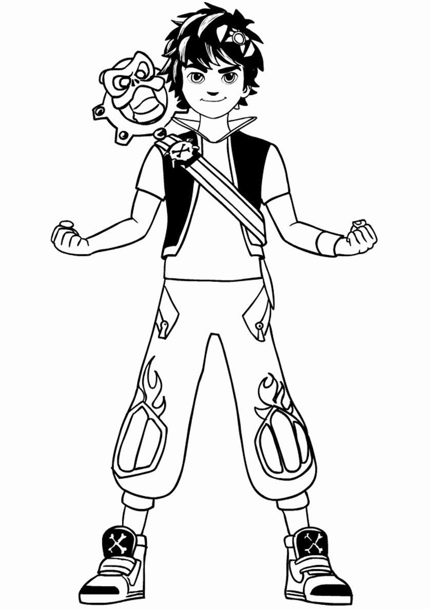 Katekyo Hitman Reborn! Coloring Pages Ideas Fresh Zak and
