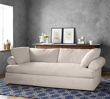 Pottery Barn Air Upholstered Daybed