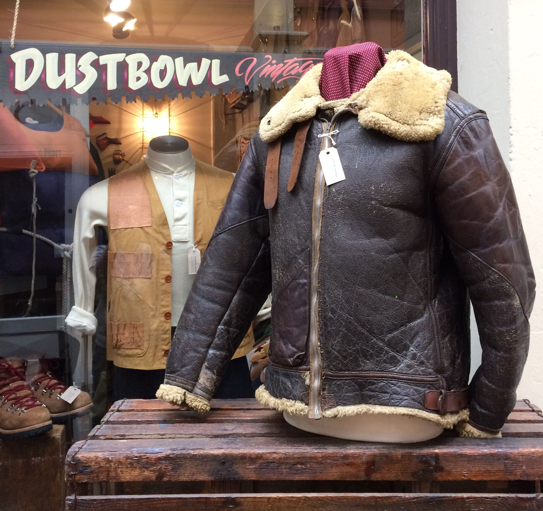 50b8fd61d WW2 B-3 bomber jacket, Dustbowl Vintage, Bristol | Men's Fashion ...