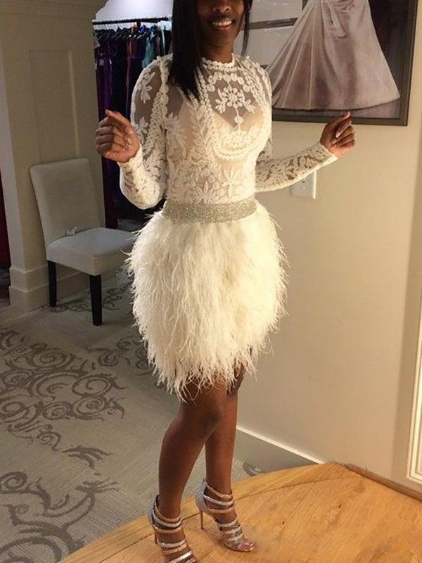 69f02de1b32 See Through Lace Top With Faux Fur Skirt Set