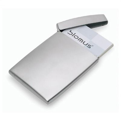 blomus gentleman s business card case with top for the better half