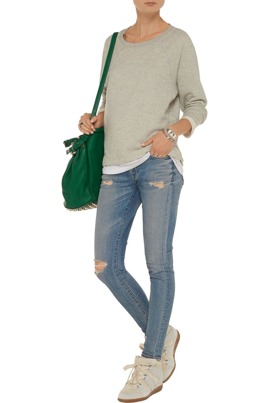 ENZA COSTACotton-blend sweatshirt