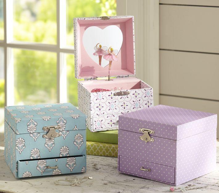 23+ Pottery barn girls jewelry box info