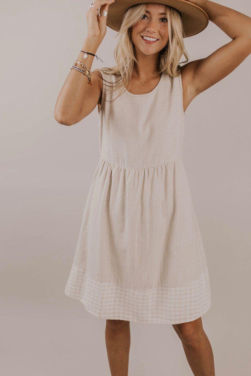 Mira Detail Dress Dresses Fashion Classy Dress