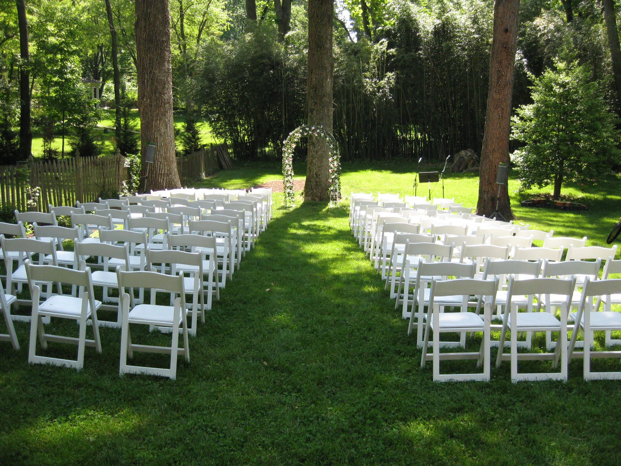Beautiful Backyards Books Brothers Wedding May - Small backyard wedding ideas