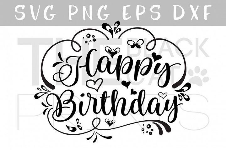Download Birthday Card Svg Files Free / Happy Birthday Happy ...