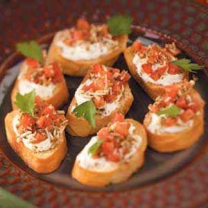in a snap bruschetta recipe food pinterest finger foods