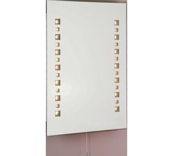 Buy Collection Mosaic Led Illuminated Bathroom Mirror At Argos Co Uk Your Online Shop For Mirrors Home Furnishings Home And Garden Luminaire
