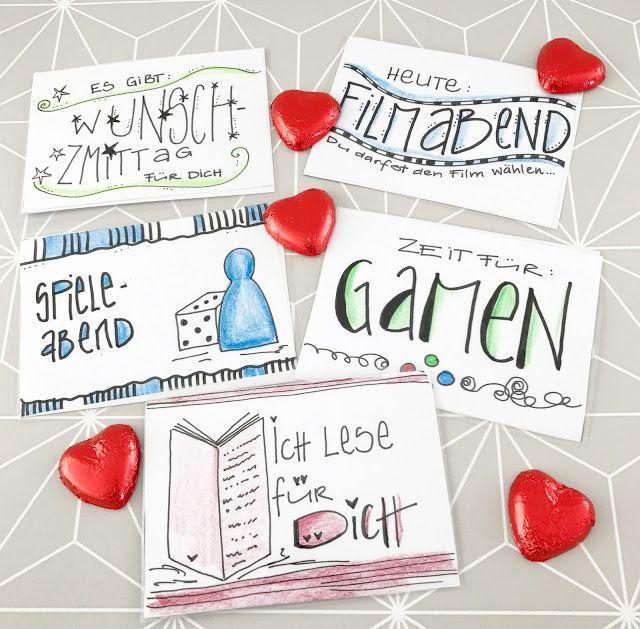 Belohnungskarten Wunschkarten Mit Vorlage Zum Ausdrucken Wunschkarten Gutschein Vorlage Karten