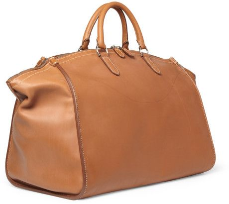 Ralph Lauren Shoes \u0026 Accessories Large Leather Weekend Bag in Brown for Men  - Lyst