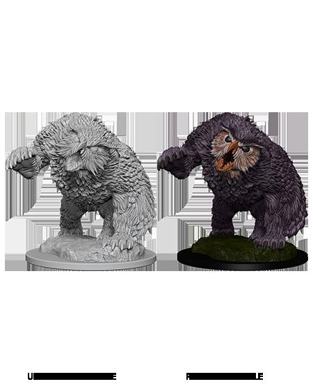 WZK72576 Dungeons /& Dragons Nolzur`s Unpainted Minis Displacer Beast