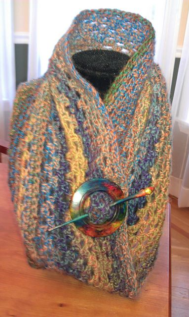The New Crochet Cowl Scarves: A New Year, A New Crochet Cowl Free ...