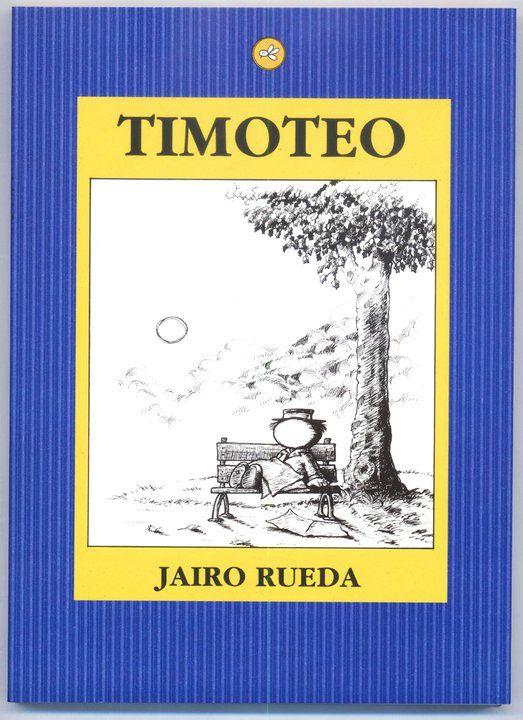 """""""Voy a hacer feliz a alguien"""" decidiò Timoteo mientras se desperezaba en una banca roja de un parque cualquiera."""