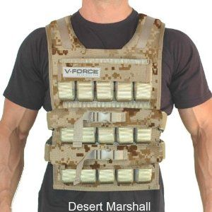 150lb weight vest 150 Lb. VForce Long Weight Vest By